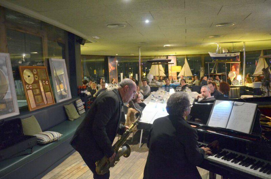 saxo piano jazz Soplos viajeros