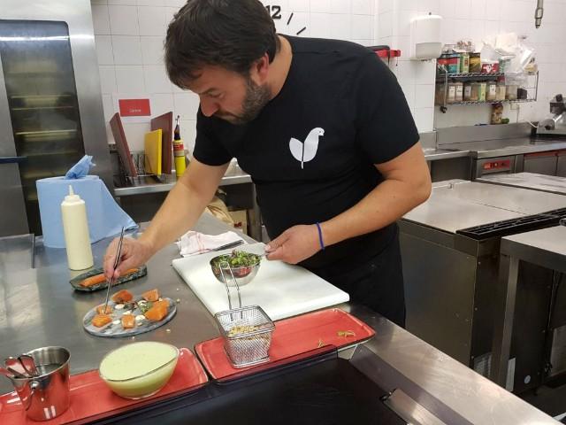 Chef Martin Aristondo Kukuarri