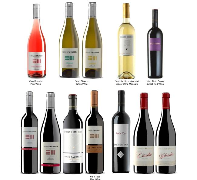Vinos Bodegas Enrique Mendoza DO Alicante
