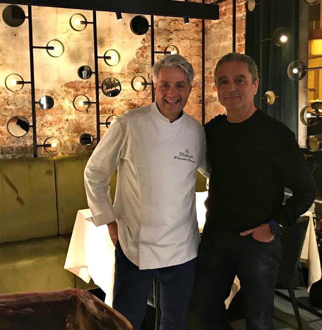 Fernando Canales Etxanobe y Juan Antonio Aguilera