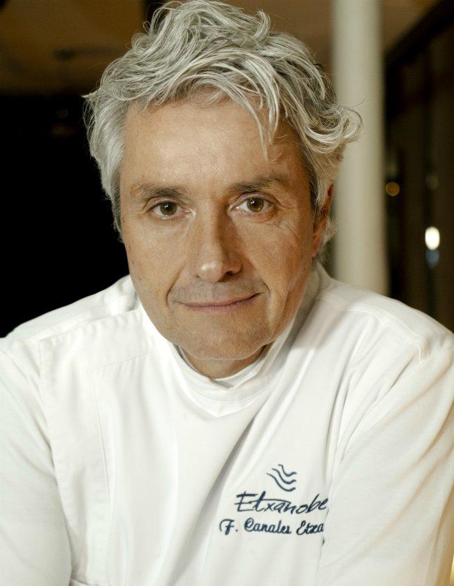 Chef Fernando Canales Etxanobe